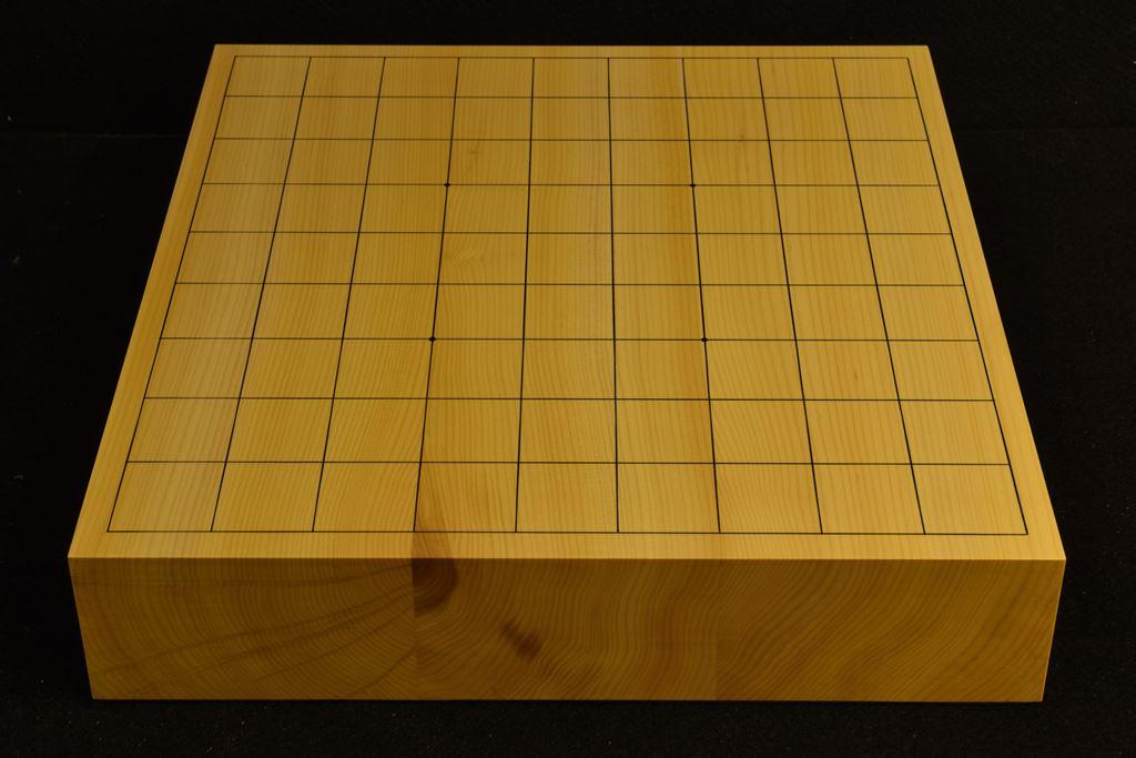 卓上将棋盤 本榧(日本産) 柾目接合 t6438