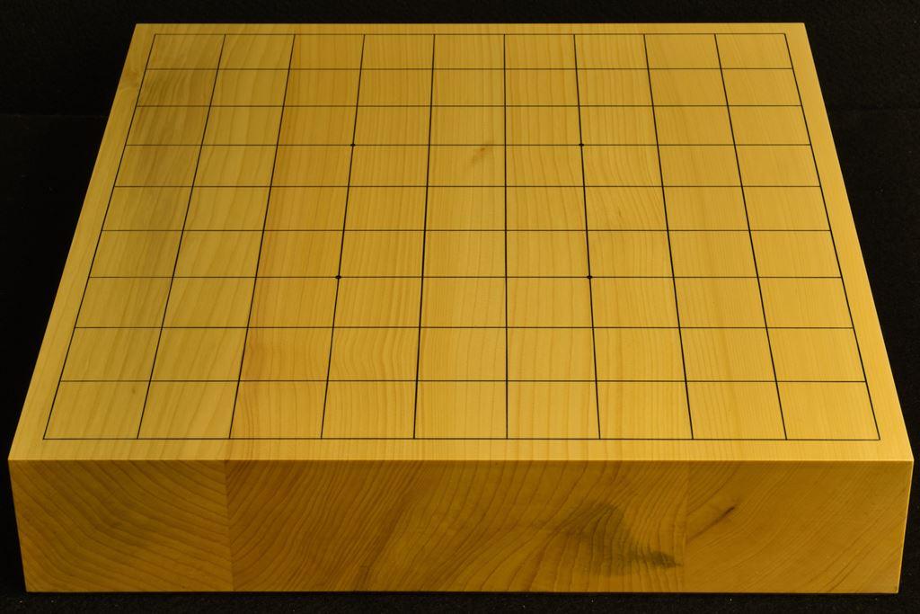 卓上将棋盤 本榧(日本産) 柾目接合 t6439