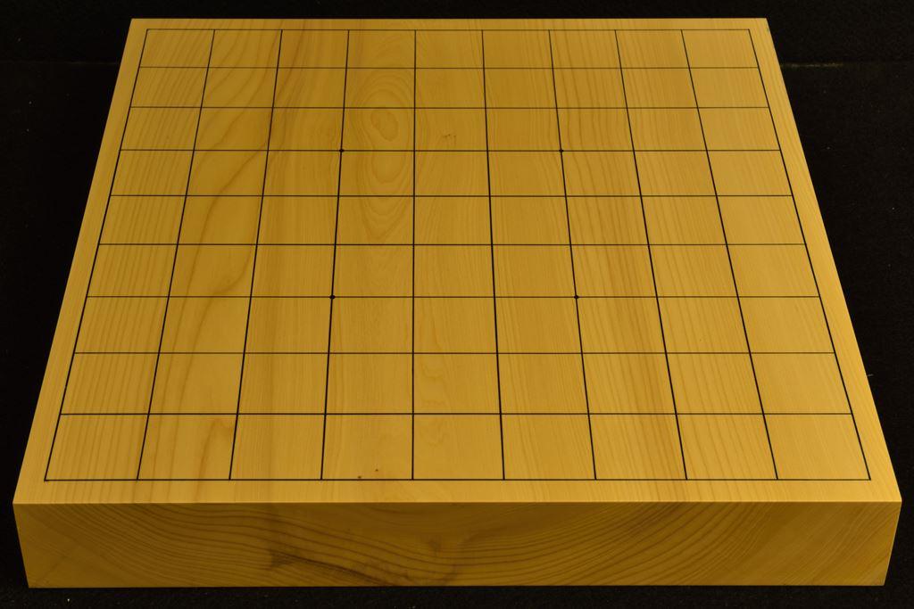 卓上将棋盤 本榧(日本産) t6442