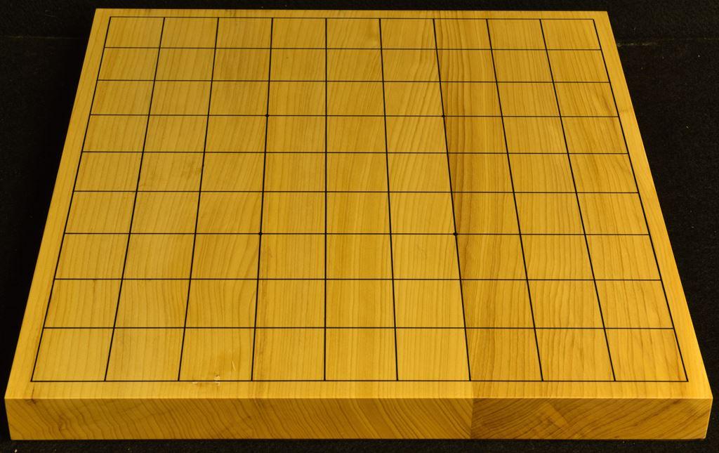 卓上将棋盤 本榧(日本産)  t6451
