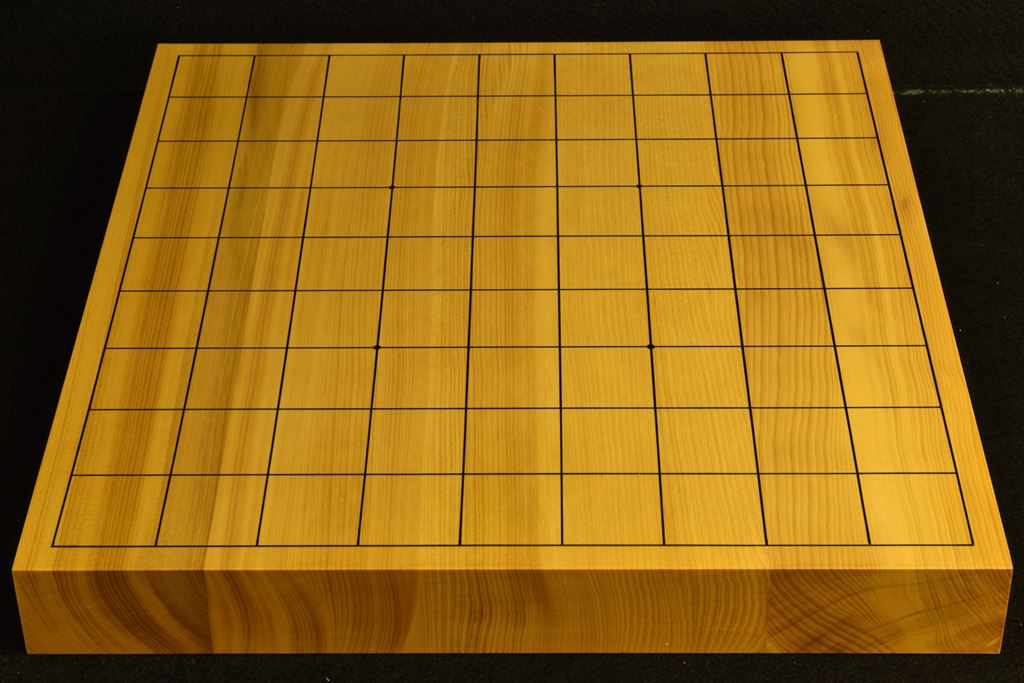 卓上将棋盤 本榧(日本・日向産) t6465
