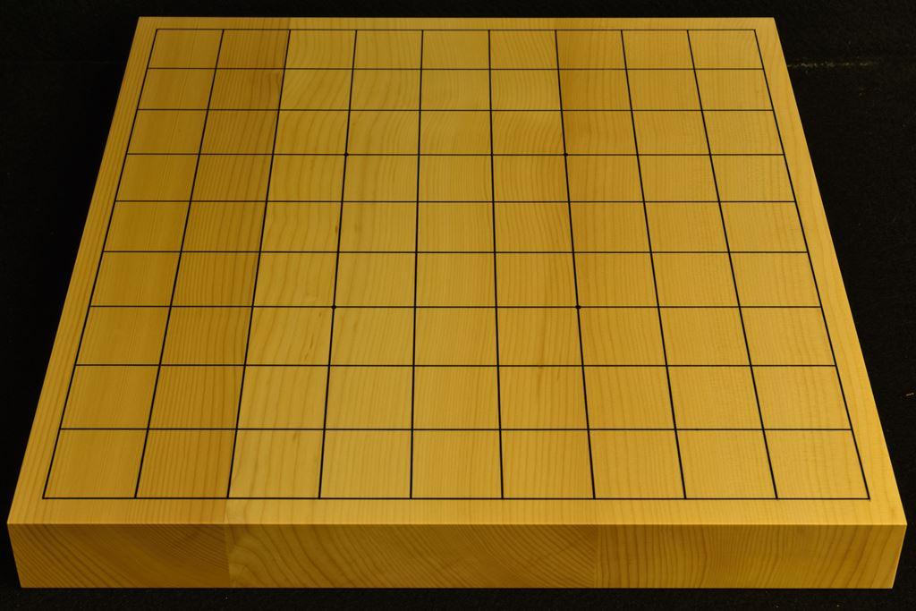 卓上将棋盤 本榧(日本・日向産) t6467