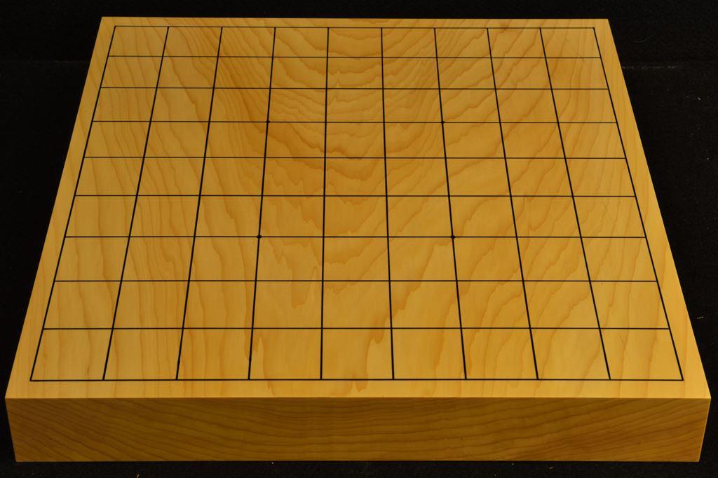 卓上将棋盤 本榧(日本産) 一枚板 t6472