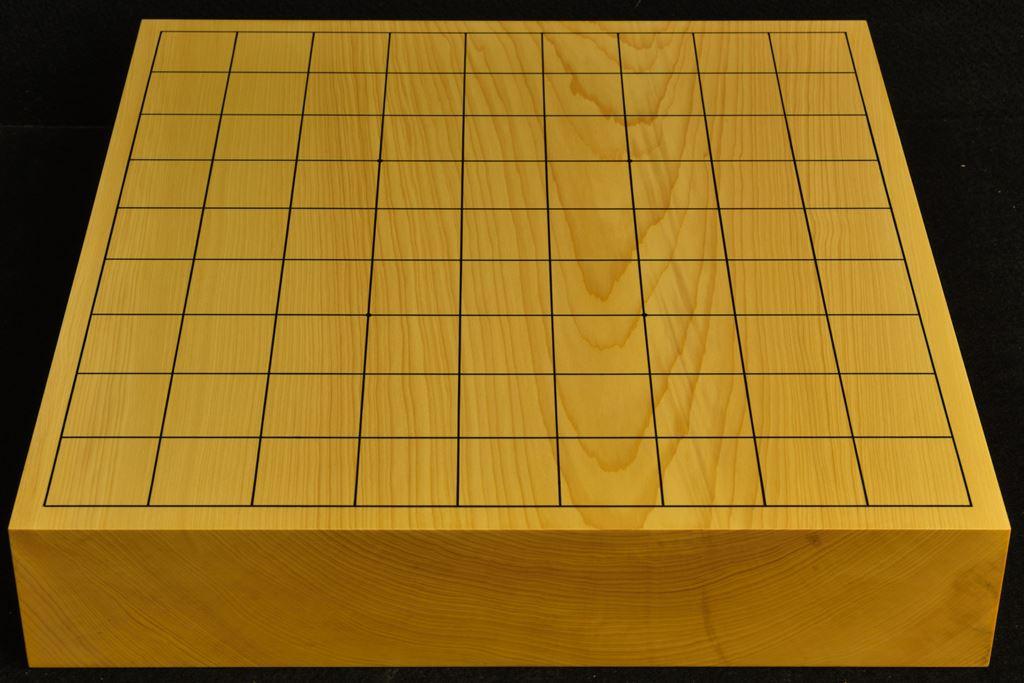 卓上将棋盤 本榧(日本産) 一枚板 t6476