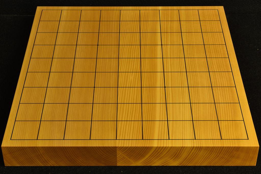 卓上将棋盤 本榧(日本・日向産) 柾目接合盤 t6477