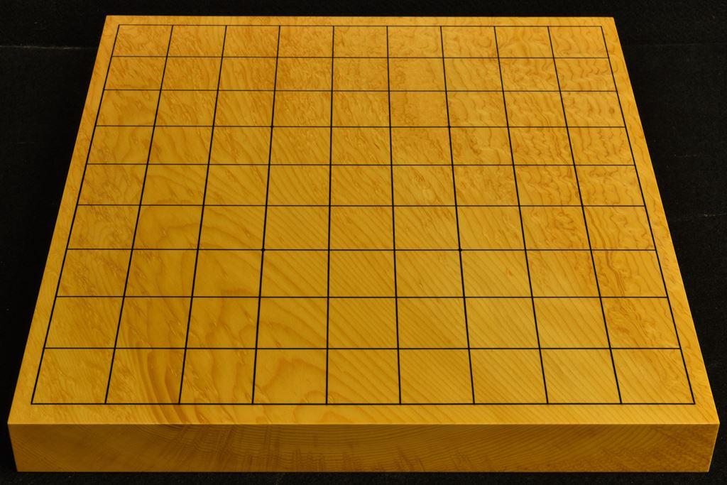 卓上将棋盤 本榧(日本産)一枚板 t6494