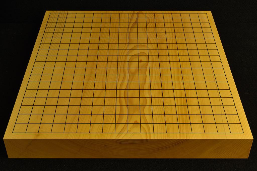 碁盤 本榧(日本・日向産)卓上 一枚板 t6500