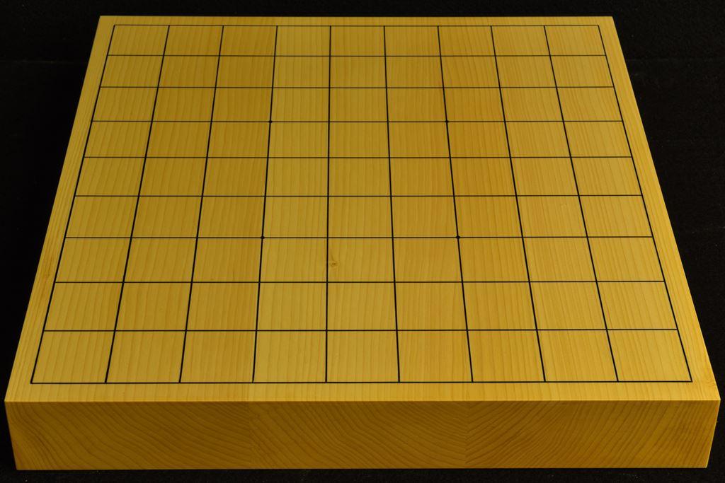 卓上将棋盤 本榧(日本産) t6492
