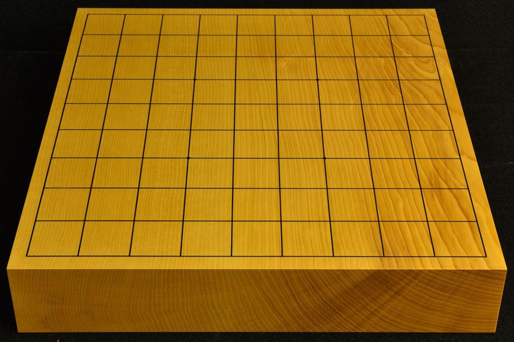 卓上将棋盤 本榧(中国産)一枚板 t6505