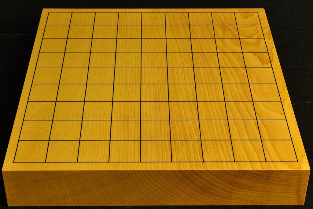 卓上将棋盤 本榧(中国産)一枚板 t6506