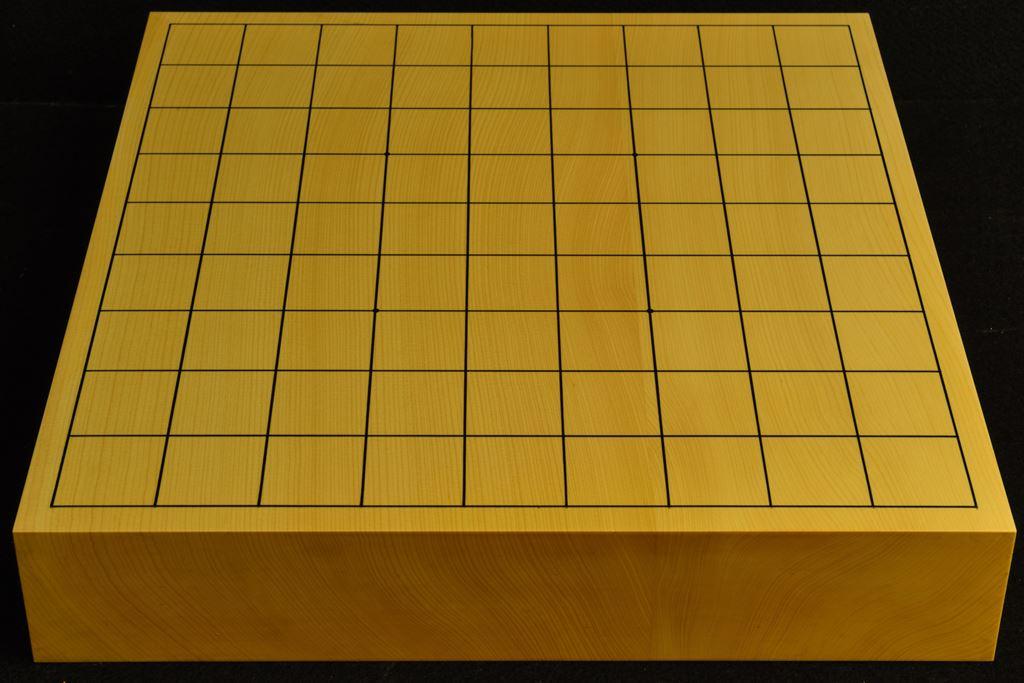 卓上将棋盤 本榧(日本・日向産) t6507