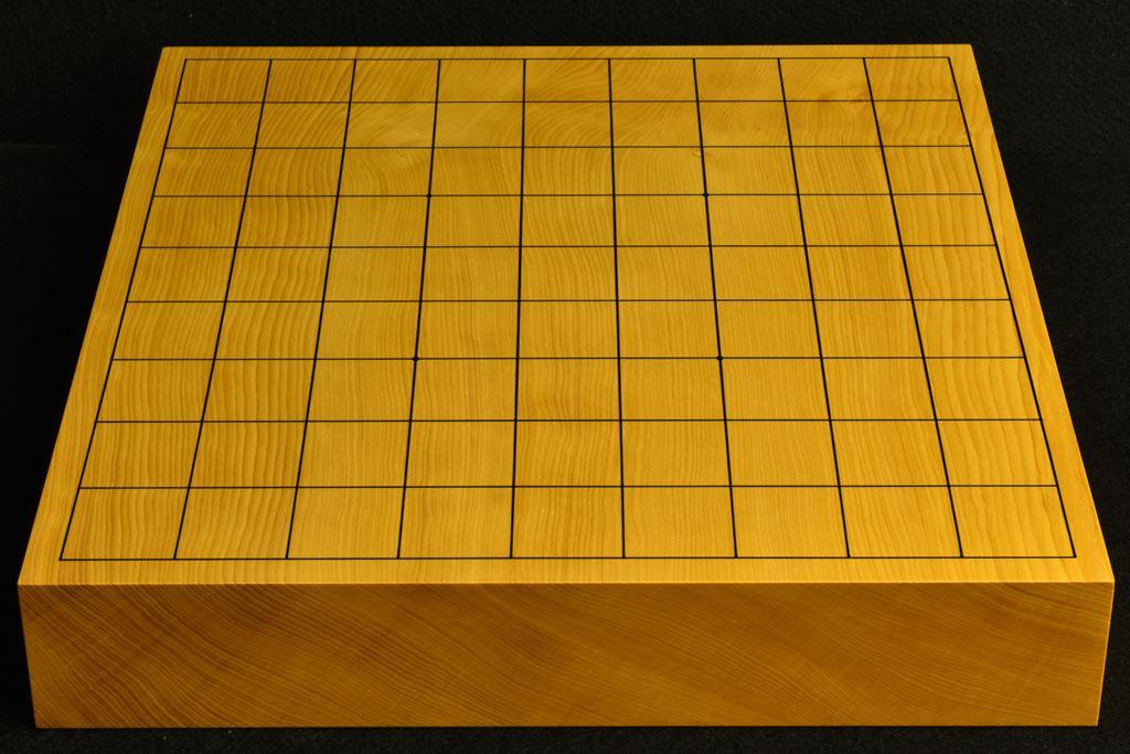 卓上将棋盤 本榧(中国産)一枚板 t6511