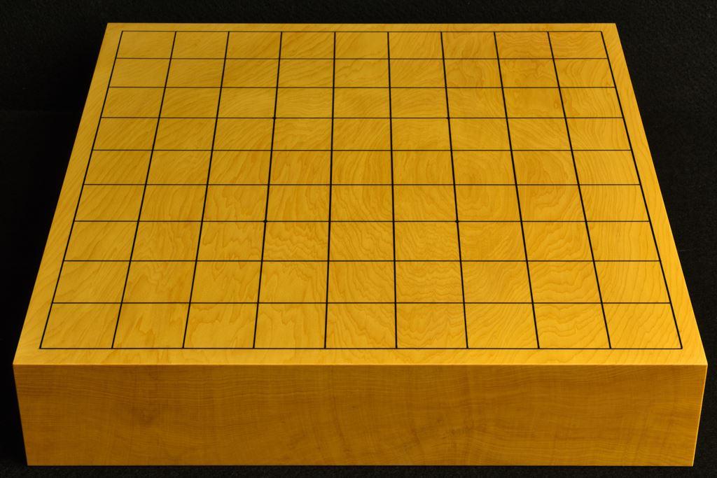 卓上将棋盤 本榧(中国産)一枚板 t6512