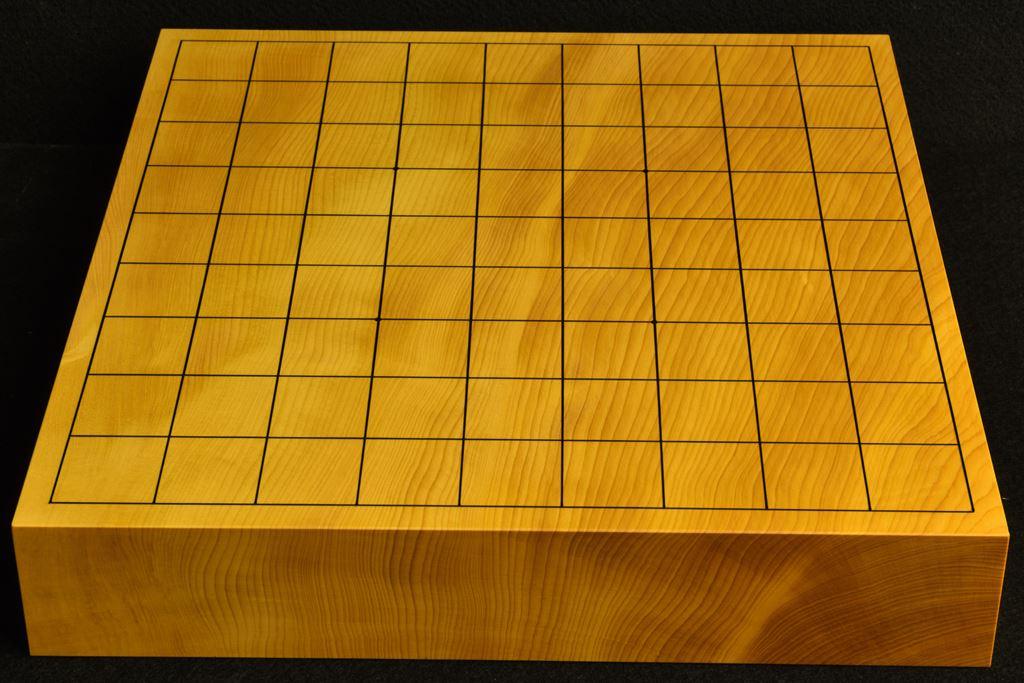 卓上将棋盤 本榧(中国産)一枚板 t6513