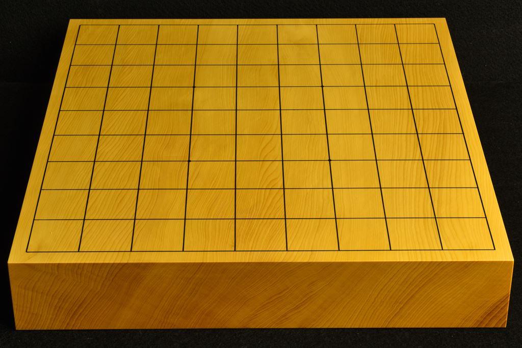 卓上将棋盤 本榧(中国産)一枚板 t6515