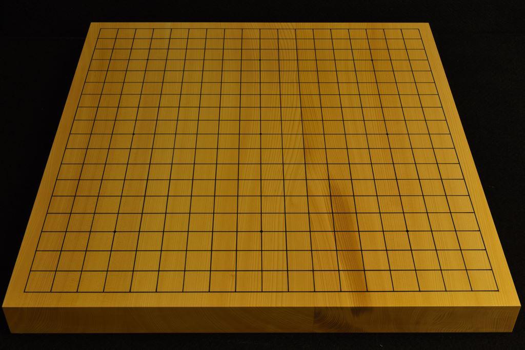 碁盤 本榧(日本・日向産)卓上 t6520