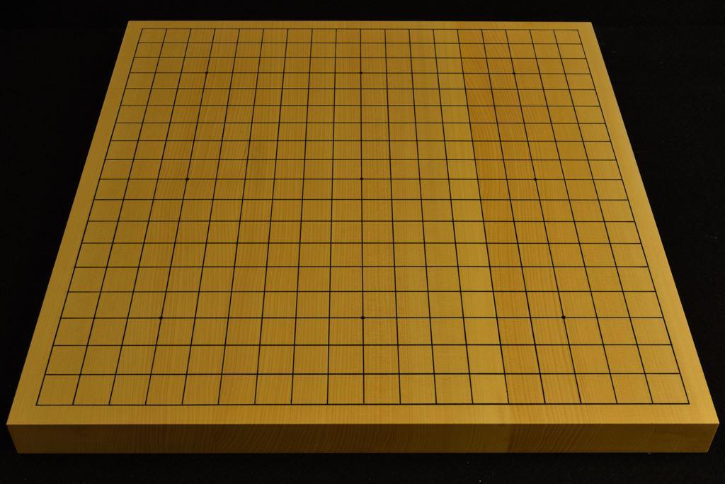碁盤 本榧(日本・日向産)卓上 t6521