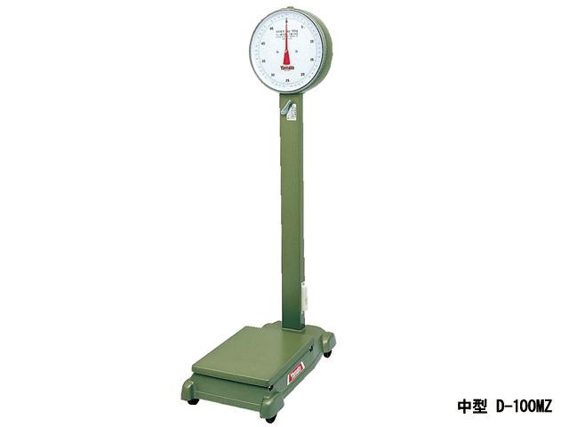 中型100kg自動台はかり車付D-100MZ