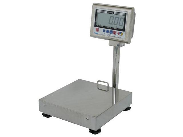 防水型卓上デジタル台はかりDP-6700L外観寸法図