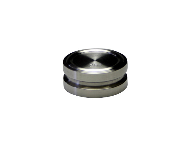 ステンレス製円盤型分銅200g