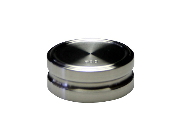 ステンレス製円盤型分銅500g