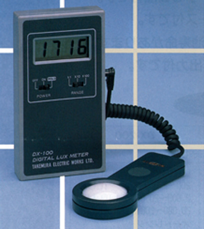 デジタル照度計DX-100
