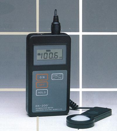デジタル照度計DX-200