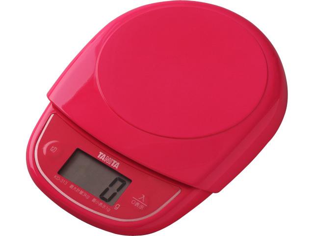 デジタルクッキングスケール KD-313 ピンク
