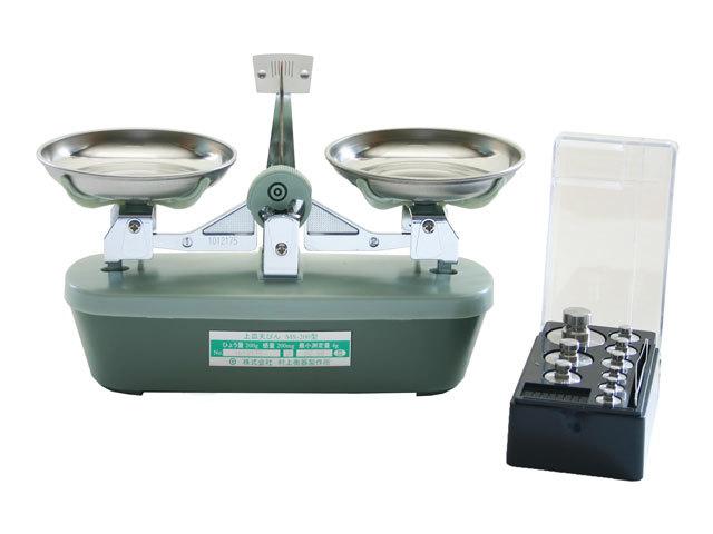 MS-200上皿天秤(分銅付き)