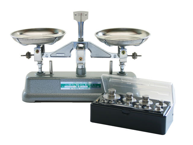 MS-500上皿天秤(分銅付き)