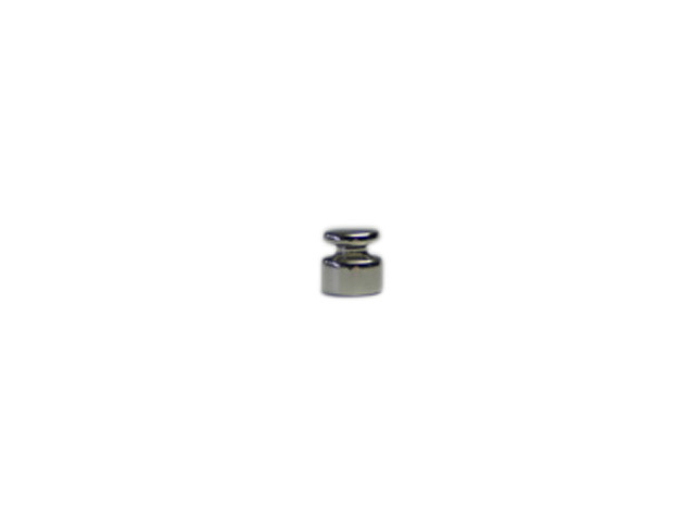OIML型円筒分銅 1g 特価品