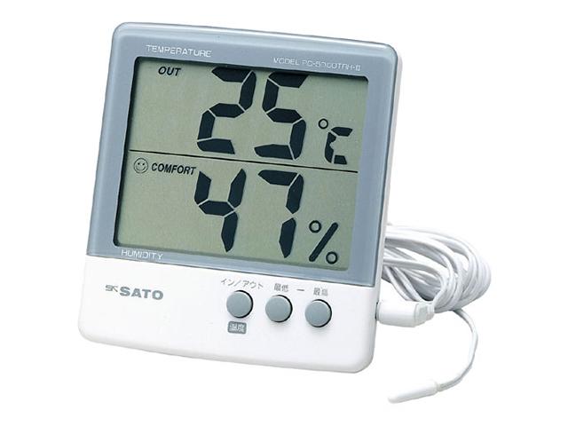 デジタル温湿度計PC-5000TRH-2