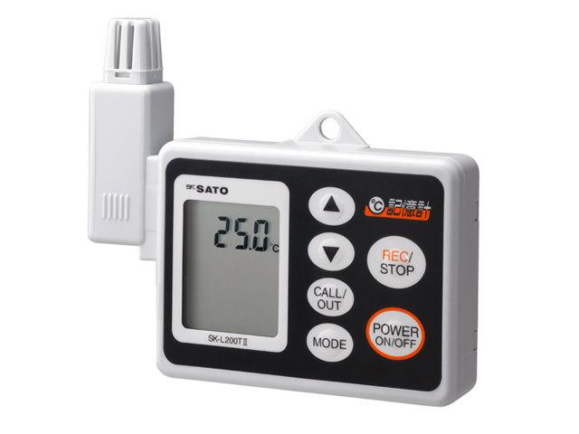 温度用データロガー SK-L200T2 記憶計+一体型センサ