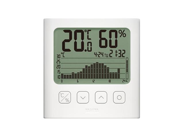 グラフ付きデジタル温湿度計 TT-581 タニタ