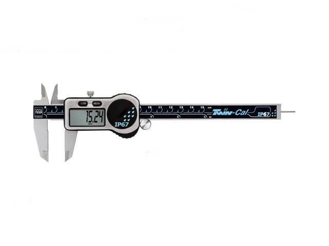 デジタルノギスTWIN-CAL IP67 150mm TESA