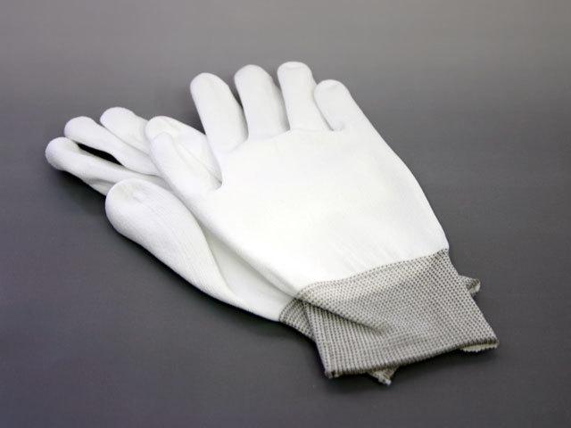 重量作業用ゴム処理布手袋
