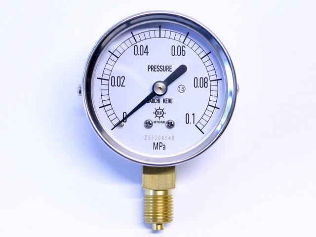 汎用型圧力計 HNT AT 60φ 0.1Mpa 第一計器製作所