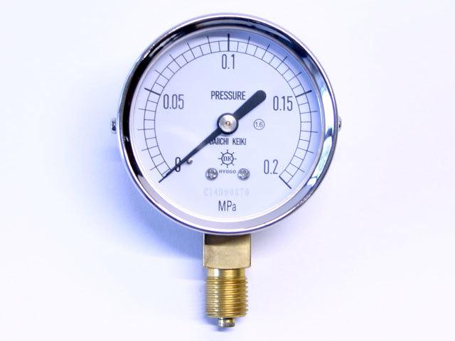 汎用型圧力計 HNT AT 60φ 0.2Mpa 第一計器製作所