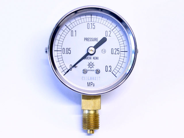 汎用型圧力計 HNT AT 60φ 0.3Mpa 第一計器製作所