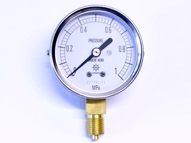 汎用型圧力計 HNT AT 60φ 1Mpa 第一計器製作所