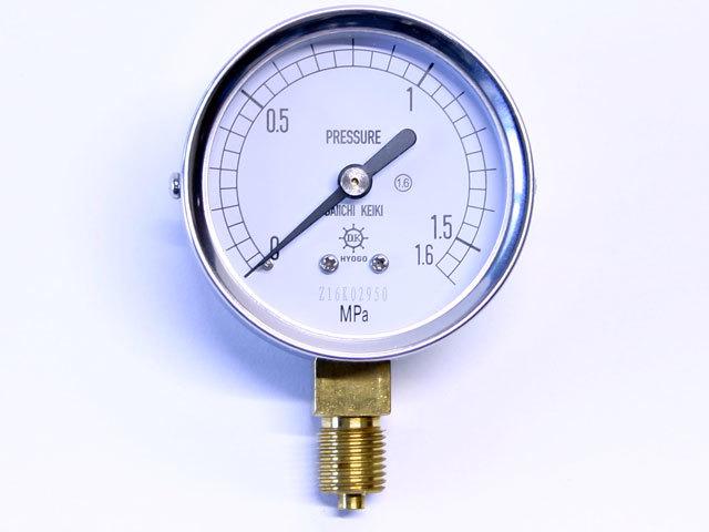 汎用型圧力計 HNT AT 60φ 1.6Mpa 第一計器製作所