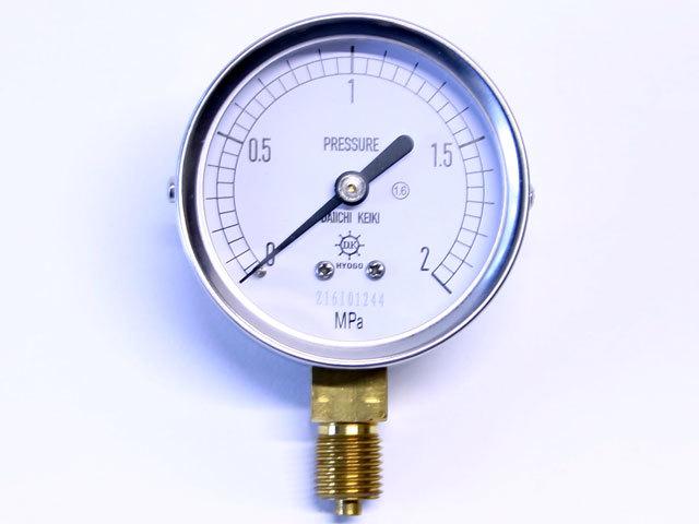 汎用型圧力計 HNT AT 60φ 2Mpa 第一計器製作所