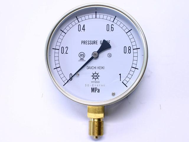 汎用型圧力計 HNT AT 100φ 1Mpa 第一計器製作所