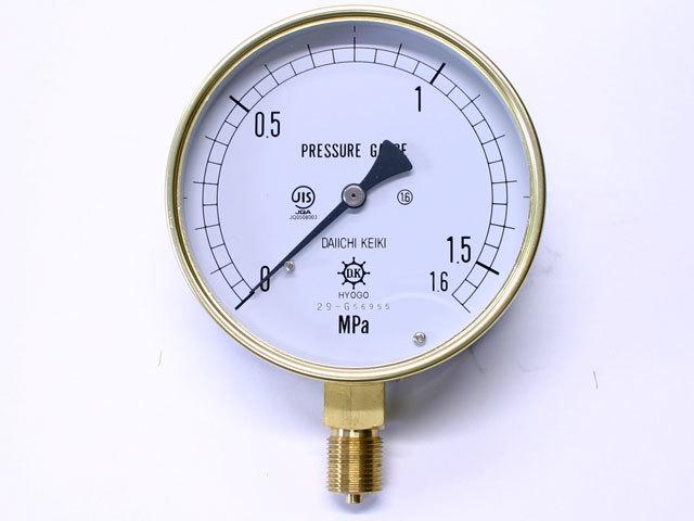 汎用型圧力計 HNT AT 100φ 1.6Mpa 第一計器製作所