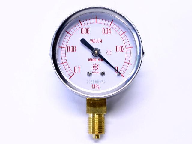 汎用型圧力計 HNT AT 60φ 真空計 第一計器製作所