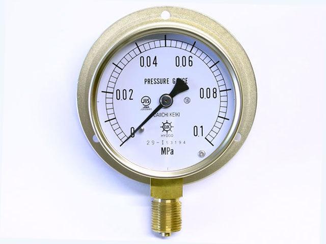 汎用型圧力計 HNT BT 75φ 0.1Mpa 第一計器製作所