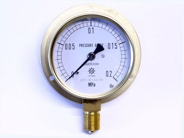 汎用型圧力計 HNT BT 75φ 0.2Mpa 第一計器製作所
