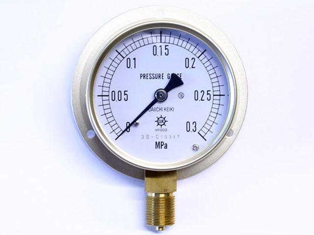 汎用型圧力計 HNT BT 75φ 0.3Mpa 第一計器製作所
