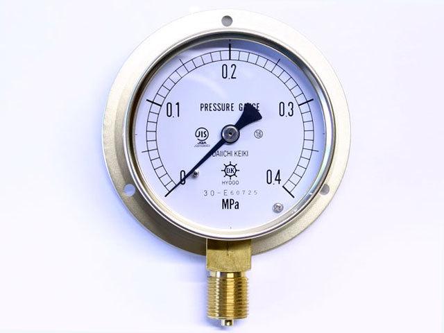 汎用型圧力計 HNT BT 75φ 0.4Mpa 第一計器製作所