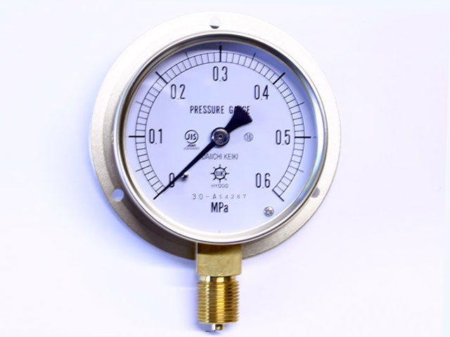 汎用型圧力計 HNT BT 75φ 0.6Mpa 第一計器製作所